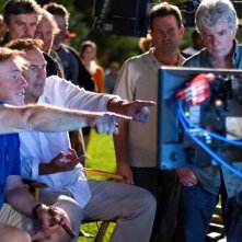 Black and White: Kevin Costner con Mike Binder sul set