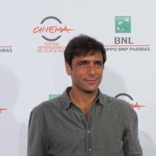 Adriano Giannini presenta 'La foresta di ghiaccio' a Roma 2014