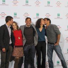Roma 2014 - il cast del film La foresta di ghiaccio