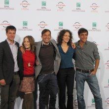 Festival di Roma 2014 - il cast del film La foresta di ghiaccio