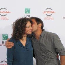 Ksenia Rappoport e Adriano Giannini, protagonisti de La foresta di ghiaccio - Festival di Roma 2014
