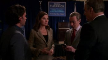 The Good Wife: una scena dell'episodio Shiny Objects