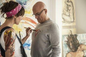 Confusi e felici: Claudio Bisio con Anna Foglietta in un momento del film