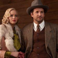Jennifer Lawrence e Bradley Cooper nella prima immagine ufficiale di Una folle passione