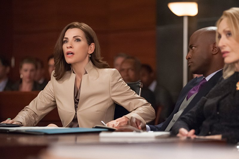 The Good Wife: Julianna Margulies in una scena dell'episodio Shiny Objects