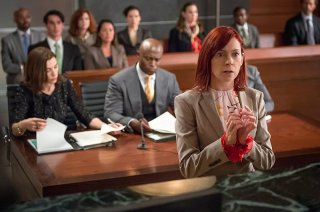 The Good Wife: Carrie Preston in una scena dell'episodio Shiny Objects