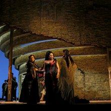 Carmen: Anita Rachvelishvili nei panni di Carmen nello spettacolo operistico dal Metropolitan Opera di New York