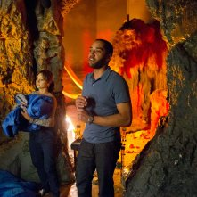 Doctor Who: Samuel Anderson e Jenna-Louise Coleman in In The Forest Of The Night