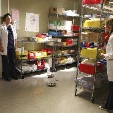 Grey's Anatomy: Sara Ramirez ed Ellen Pompeo nella puntata intitolata Bend or Break