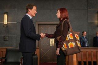 The Good Wife: Kyle MacLachlan e Carrie Preston nella puntata Old Spice