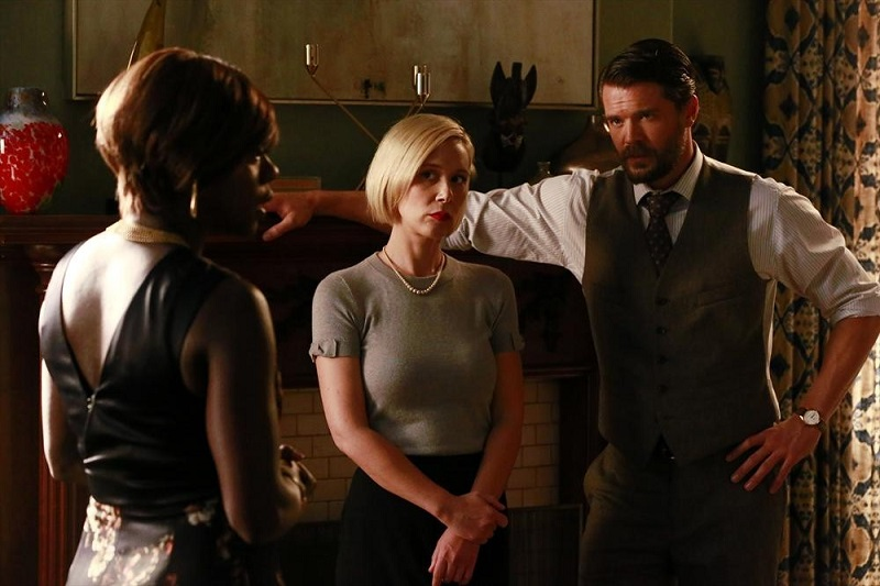 Hot To Get Away With Murder: Viola Davis, Liza Weil e Charlie Weber in We're Not Friends