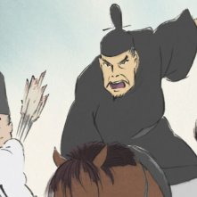La Storia della Principessa Splendente: una scena del film animato
