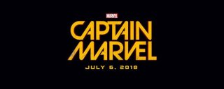Il logo di Captain Marvel