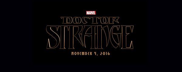 Doctor Strange - il logo del film