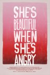 Locandina di She's Beautiful When She's Angry