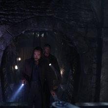 Sleepy Hollow: Tom Mison e Matt Barr nella puntata And The Abyss Gazes Back