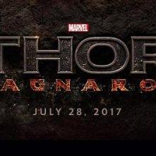 Thor: Ragnarok il logo del film