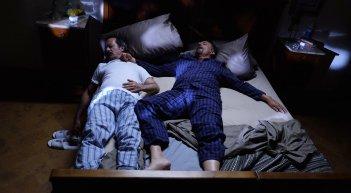 La scuola più bella del mondo: Rocco Papaleo e Christian De Sica addormentati