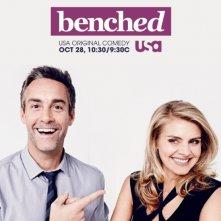 Benched: una locandina per la serie