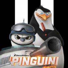 I pinguini di Madagascar: il character poster di Rico l'esperto d'armi