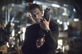 The Flash: l'attore Wentworth Miller in una scena dell'episodio Going Rogue