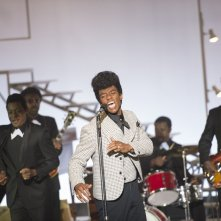 Get on Up: Chadwick Boseman con Nelsan Ellis in un'immagine del film