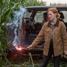 Interstellar: Jessica Chastain in una scena