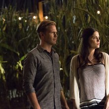 The Vampire Diaries: Matthew Davis e Jodi Lyn O'Keefe nell'episodio intitolato The World Has Turned and Left Me Here