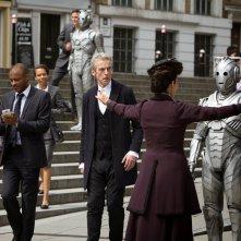 Doctor Who: Peter Capaldi e Michelle Gomez in Dark Water