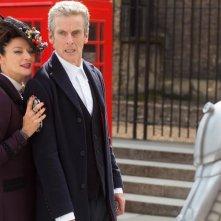 Doctor Who: Michelle Gomez e Peter Capaldi nella puntata intitolata Dark Water