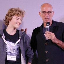 Il ragazzo invisibile: Gabriele Salvatores e il protagonista Ludovico Girardello a Lucca Comics & Games 2014