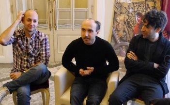 Italiano medio: Maccio Capatonda, Ivo Avido ed Herbert Ballerina a lucca Comics & Games 2014
