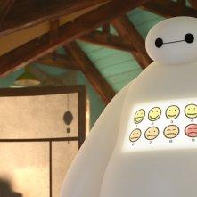 Big Hero 6: il nostro eroe bianco in una scena del film animato