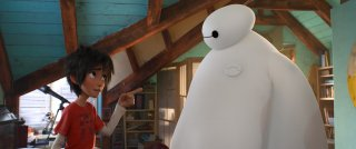 Big Hero 6: una scena tratta dal film d'animazione della Disney Pixar