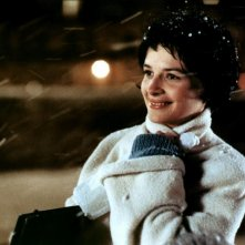 Juliette Binoche in una scena de Gli amanti del Pont-Neuf