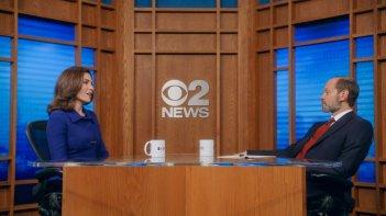 The Good Wife: l'attrice Julianna Margulies in una scena dell'episodio Message Discipline