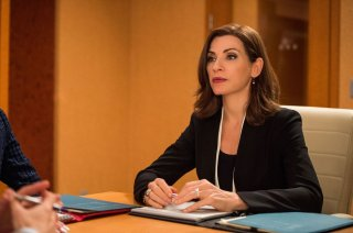 The Good Wife: la protagonista Julianna Margulies in Message Discipline