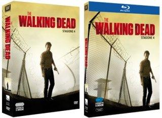 Le cover homevideo di The Walking Dead - Stagione 4