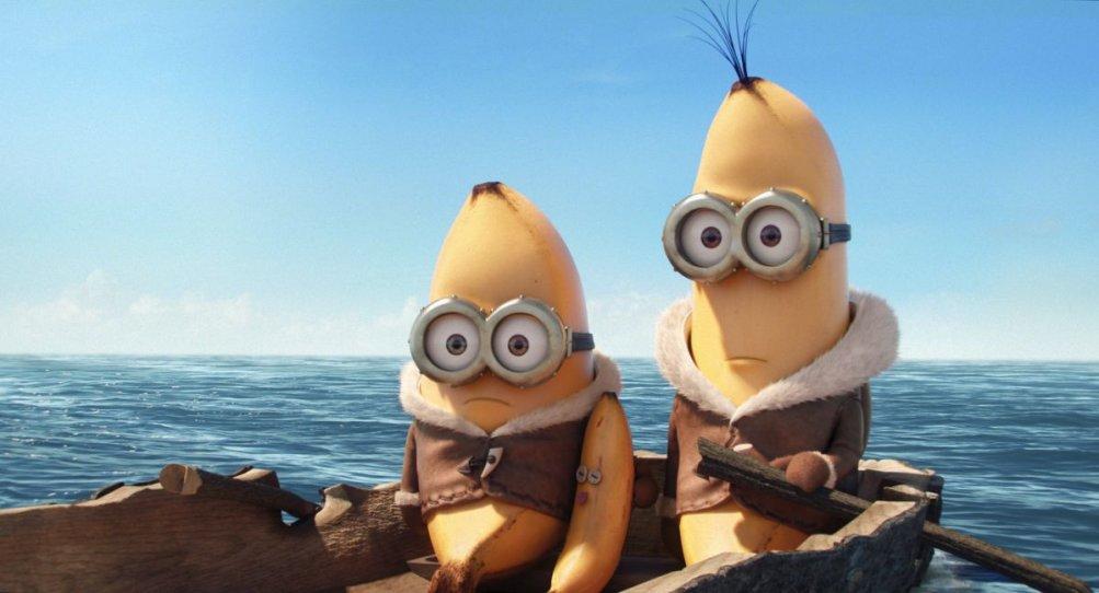 Minions: una scena del film d'animazione