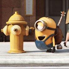 Minions: una delle prime immagini del film animato