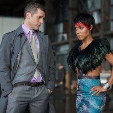 Gotham: Jeremy Davidson e Jada Pinkett Smith nell'episodio intitolato L'ombrello del Pinguino
