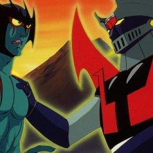 Le notti dei Super Robot - Parte I e II: una colorata immagine tratta dall'evento cinematografico