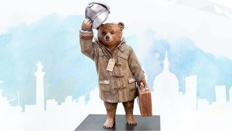 L'orso Paddington commissionato da Cumberbatch per una vendita di beneficenza