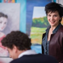 Words and Pictures: Juliette Binoche nei panni dell'insegnante d'arte Dina Delsanto in una scena