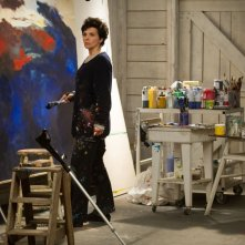 Words and Pictures: Juliette Binoche professoressa d'arte in una scena del film