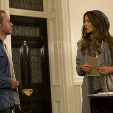 Un'occasione da Dio: Simon Pegg e Kate Beckinsale in una scena del film