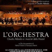 Locandina di L'Orchestra. Claudio Abbado e i musicisti della Mozart