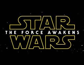 Star Wars: The Force Awakens - il logo del film