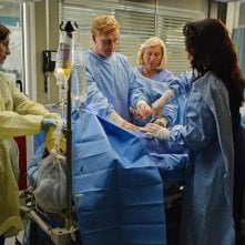 Grey's Anatomy: Kevin McKidd e Sara Ramirez in una scena dell'episodio intitolato Don't Let's Start