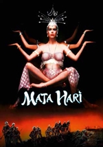 Locandina di Mata Hari - Un corpo da spiare